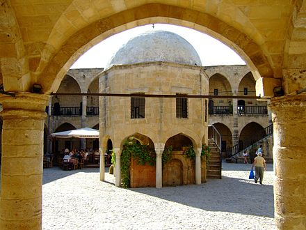 The Ottoman Turks built Büyük Han in 1572. Today it has become a thriving center of Turkish Cypriot culture.