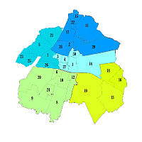 Boroughs of Brescia.