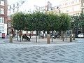 Circular seated area in the middle of Devonshire Square - geograph.org.uk - 1021445.jpg