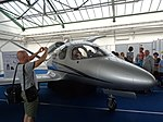 Cirrus Vision SF50 - Bdg Air Fair 10 5-2016.jpg