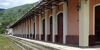 Cisneros, Antioquia - Image: Cisneros Antigua Estacion Antioquia