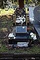 City of London Cemetery - black marble grave monument - Newham London England.jpg