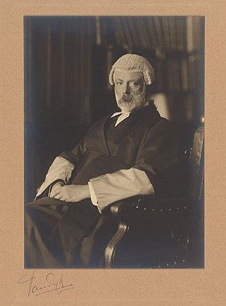 Clement Bailhache - Sir Clement Bailhache.