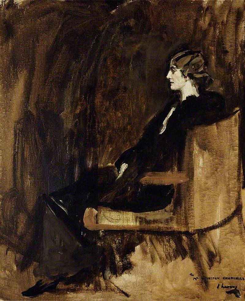 Клементина Огилви Хозиер (1885-1977), позднее баронесса Черчилль (38575925961) .jpg