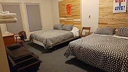 Cleveland Hostel room