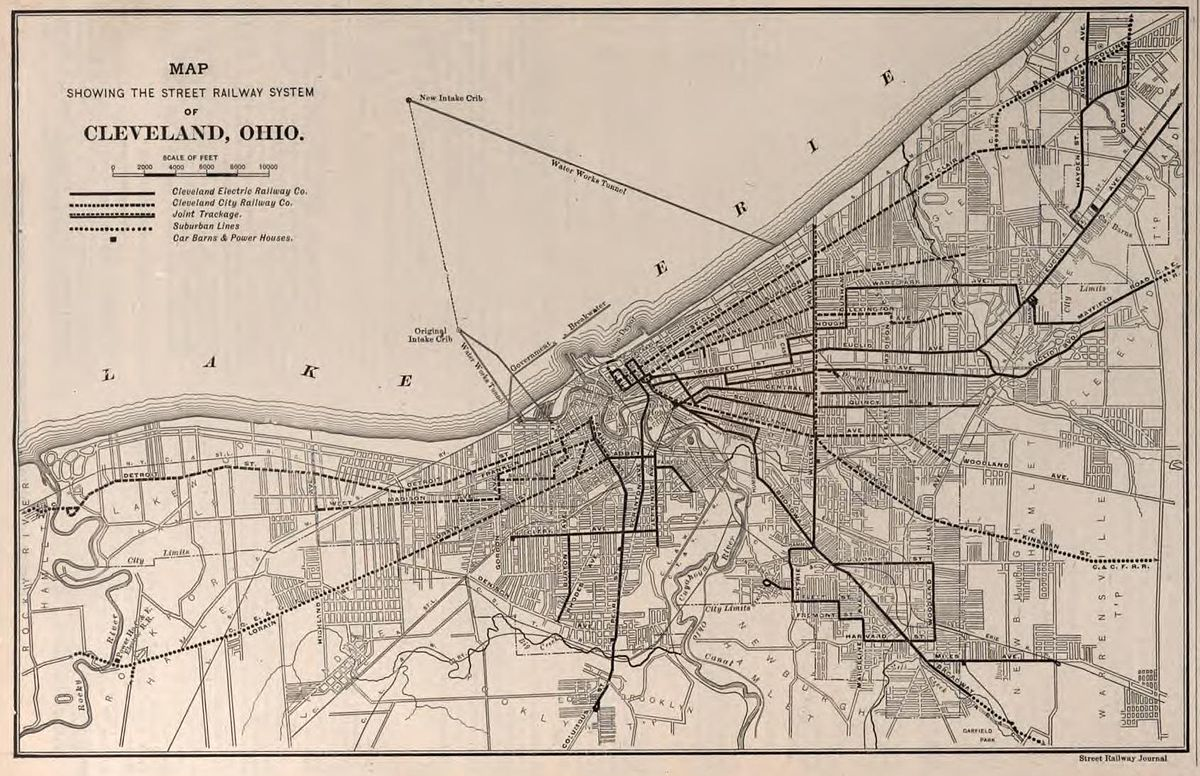 Streetcars In Cleveland Wikipedia