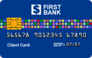 A sample picture of a fictional ATM card.