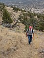 Cline Buttes hiking trail, 2016.jpg