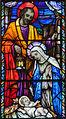 Clonmel SS. Peter and Paul's Church East Aisle Window 06 Nativity Detail 2012 09 07.jpg