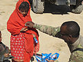 Coalition forces distribute school supplies in Zabul province 111001-A-JD187-002.jpg