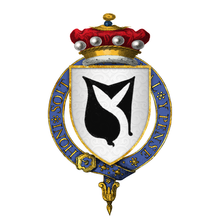 Coat of Arms of Sir William Hastings, 1st Baron Hastings, KG.png
