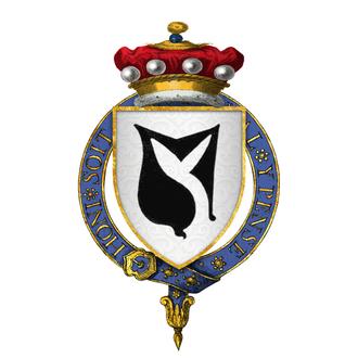 William Hastings, 1st Baron Hastings - Arms of Sir William Hastings, 1st Baron Hastings, KG