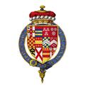 Coat of arms Sir George Villiers, 1st Viscount Villiers, KG.png