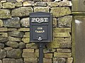 Cob Castle, Letter box - geograph.org.uk - 1286970.jpg