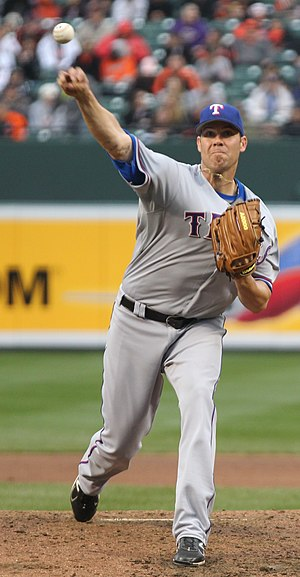 Colby Lewis - Lewis with the Texas Rangers