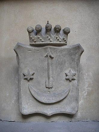 Sas coat of arms - Image: Collegium Maius Krakow June 2006 001