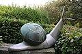 Collodi, Parco di Pinocchio, la lumaca 01.jpg