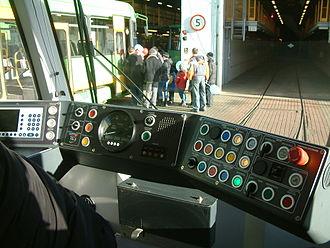 Combino - Control panel of Poznań Combino