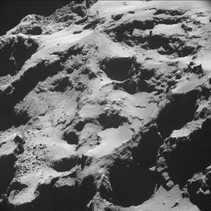 Comet 67P on 20 October 2014 NavCam C.jpg