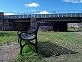 Commemorative bench 'Swinton Bridge 2002' - geograph.org.uk - 731961.jpg
