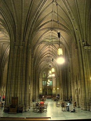 Commons Room (Cathedral of Learning), Universi...