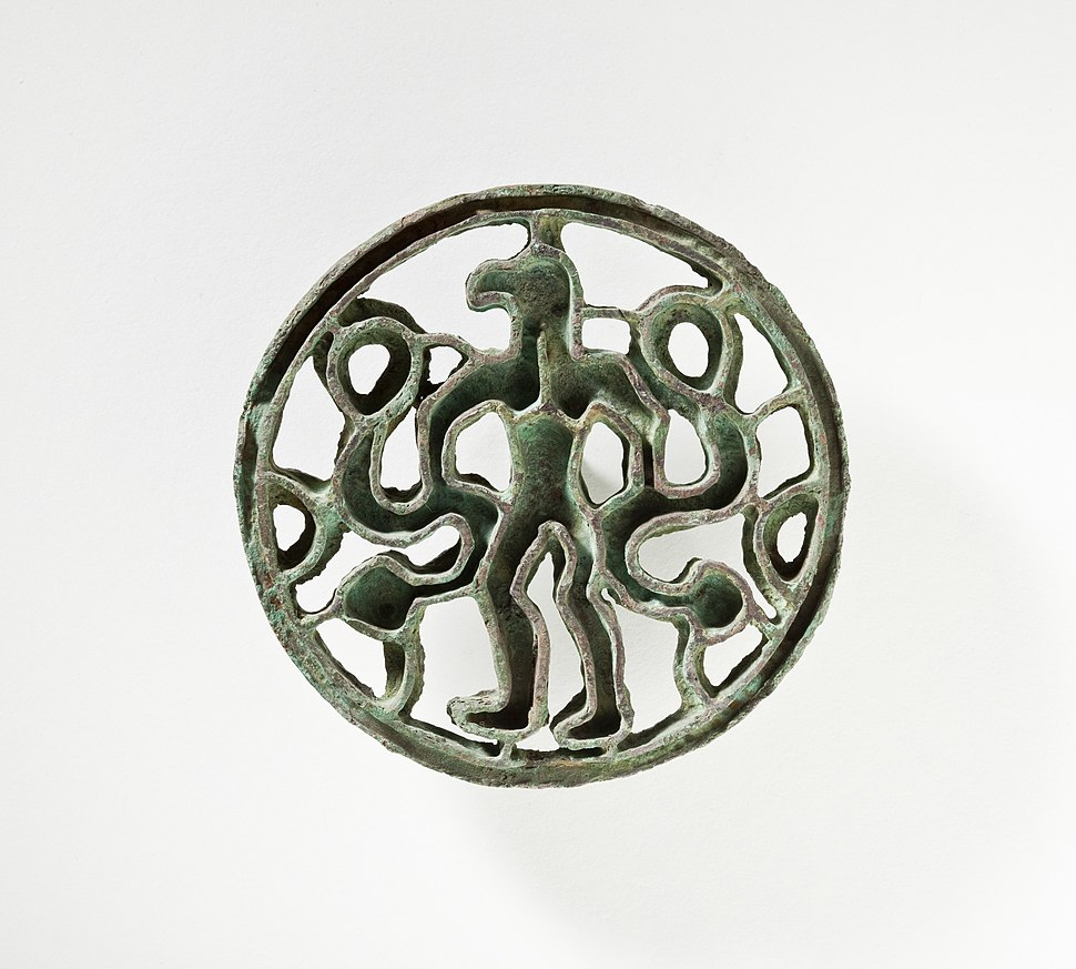 Compartmented Seal with Bird-Headed Man with Snakes LACMA AC1995.5.6