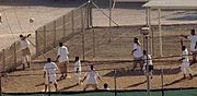 Compliant captives are allowed to play soccer in Guantanamo