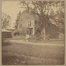 The Old Manse, ca. 1895-1905. Archive of Photographic Documentation of Early Massachusetts Architecture, Boston Public Library.