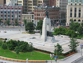 Confederation Square - View of Confederation Square from the northeast