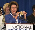 Congresswoman Pelosi to be Inducted in National Women's Hall of Fame (10334070673) (cropped).jpg