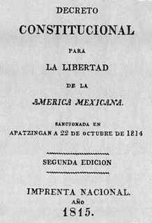 Constitution of Apatzingán