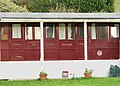 Converted railway carriage, Polzeath (detail) - geograph.org.uk - 1469882.jpg