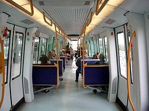 AnsaldoBreda Driverless Metro - Interior of a Copenhagen Metro unit