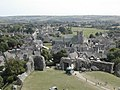 Corfe Castle - View of Village from Castle - geograph.org.uk - 30861.jpg