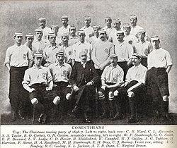 O Corinthian Football Club (em foto do período 1896-1897) e4e72eca89734