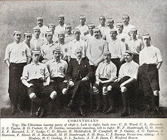 Corinthian F.C. - The Corinthian team of 1896–97
