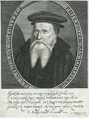 Dirk Philips - Image: Cornelis Coning portrait of Dirk Philips of Leeuwarden d 1568