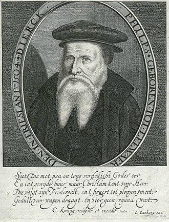 Cornelis Coning - Image: Cornelis Coning portrait of Dirk Philips of Leeuwarden d 1568