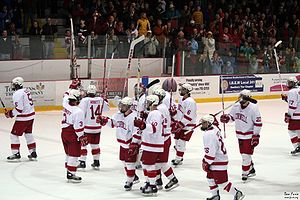 Lynah Rink - The Lynah salute