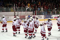 The Men's Ice Hockey Team at Lynah Rink