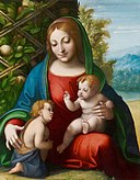 Correggio - Virgin and Child with the Young Saint John the Baptist - 1965.688 - Art Institute of Chicago.jpg