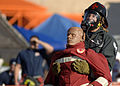 Cory McGee, Whiteman AFB, carries dummy in the Firefighter Combat Competition at Morrow, GA.jpg