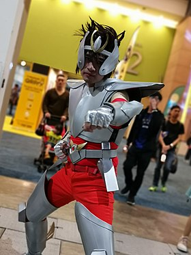 Cosplay of Pegasus Seiya at Asia Comic Con 2019.jpg