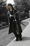 Cosplayer of Kirito from Sword Art Online 20130824.jpg