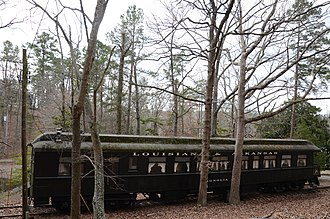 Couchwood - Image: Couchwood Historic District, Magnolia Railroad Car