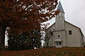 Country-church-cloudy-sky-autumn-leaves - West Virginia - ForestWander.jpg