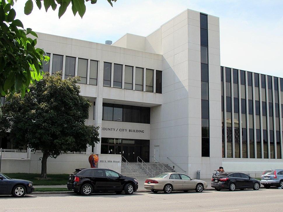 County-City Building, Lincoln, Nebraska, USA