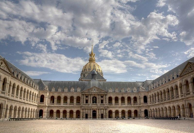 File:Cour intérieure des Invalides1.jpg