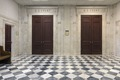 Courtroom entrance doors at the Alton Lennon Federal Building and U.S. Courthouse, Wilmington, North Carolina LCCN2013634219.tif