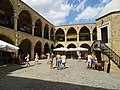 Courtyard of Buyuk Han - Northern Nicosia - Turkish Republic of Northern Cyprus (27856125893).jpg